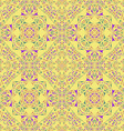 Kaleidoscope Inspired Floral Background vector image