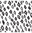 hand-painted seamless pattern with abstract vector image