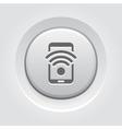 Wi-Fi Hotspot Icon vector image vector image