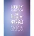 Happy New year 2016 design vector image