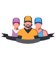 sport team vector image