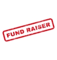 Fund Raiser Text Rubber Stamp vector image