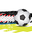 soccer design background vector image vector image