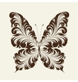 Butterfly of the ornament vector image