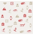 Switzerland seamless pattern vector image vector image