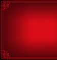 red chinese fan abstract with black background vector image