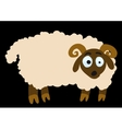 surprised lamb vector image vector image