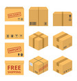 delivery service concept icon vector image