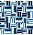 Techno blue stripes vector image