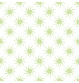 Seamless pattern of stylized green plants vector image