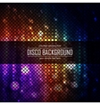 Colorful disco lighten background Magic effect vector image