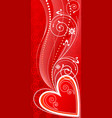 love ornament vector image