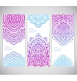 Beautiful Indian floral paisley seamless ornament vector image vector image
