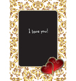 Valentines Photo Frame vector image vector image