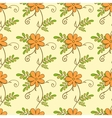 Floral seamless pattern Flowers background vector image