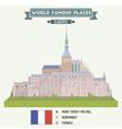 Mont Saint Michel vector image