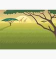 africa landscape vector image