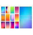 soft color gradients background vector image