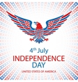 4th July Independence day and for Presidential vector image