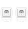 electrical socket vector image