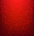 Red Bokeh Xmas Card vector image