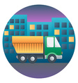 Truck Detailed vector image