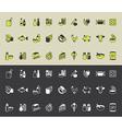 icons foodsupermarket vector image