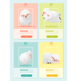 Animal banner with sheep for web design 2 vector image