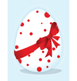 Funny egg vector image vector image