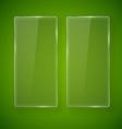 glass frame vector image