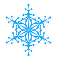 snowflake icon illlustration vector image