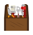 case toolbox repair icon vector image