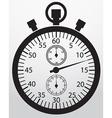Stopwatch app icon vector image