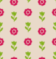 Seamless Floral Texture Vintage Pattern for vector image