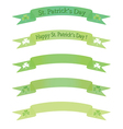 banners for St Pastricks Day vector image