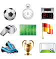 icons football vector image