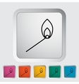 Match icon vector image vector image