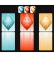 Digital cards vector image