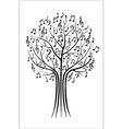 Music tree vector image