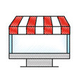 computer online shopping grocery technology vector image