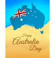 Happy Australia day vector image