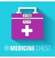 Medicine flat icons set concept vector image