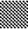white black circle seamless on white background vector image