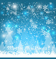 elegant christmas background with vector image