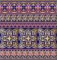 ornament violet vector image vector image