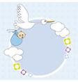 stork framework vector image vector image