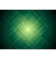 Vibrant green tech design vector image vector image