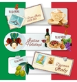 Italy Touristic Banners vector image