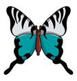 papilio palinurus butterfly icon cartoon style vector image vector image