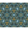 Abstract floral geometrical ornament vector image